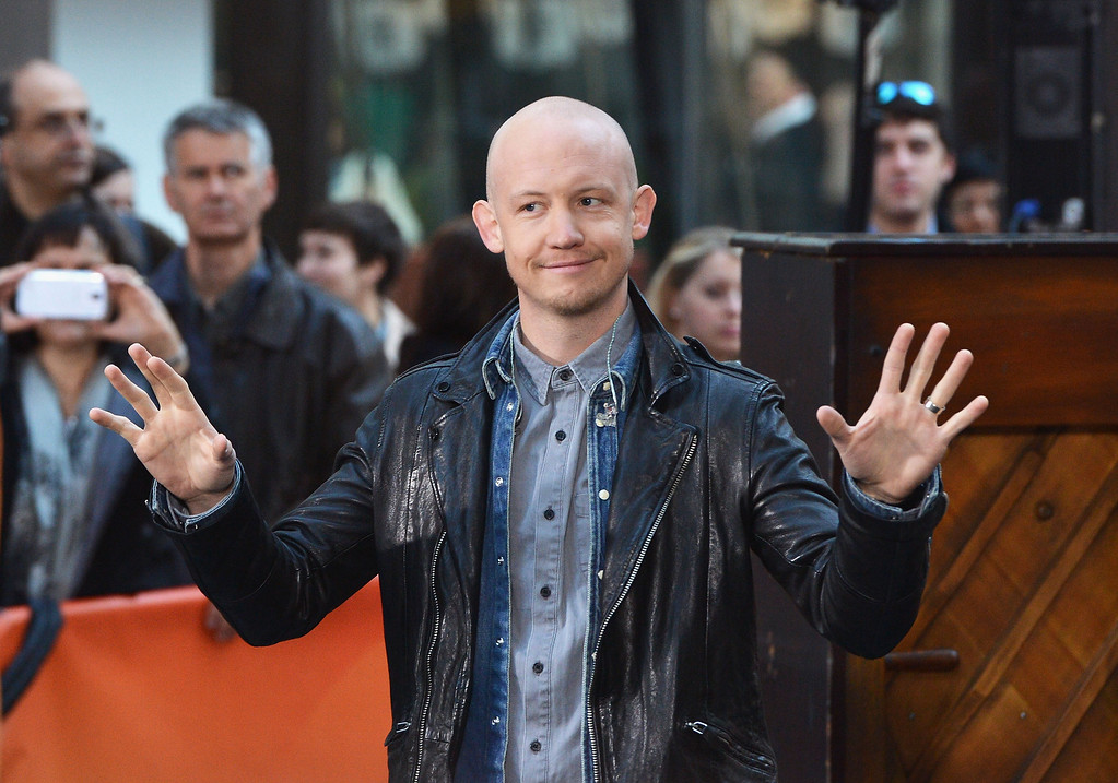 """. Isaac Slade of the Fray performs on NBC\'s \""""Today\"""" on October 22, 2013 in New York, New York.  (Photo by Slaven Vlasic/Getty Images)"""