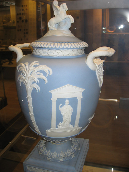 The Pegasus Vase, Wedgwood, late eighteenth century--The Brish Museum