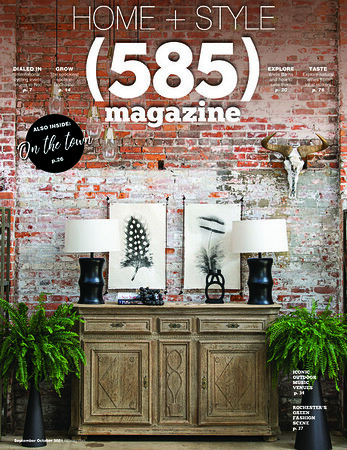 585 Magazine - Home + Style COVER