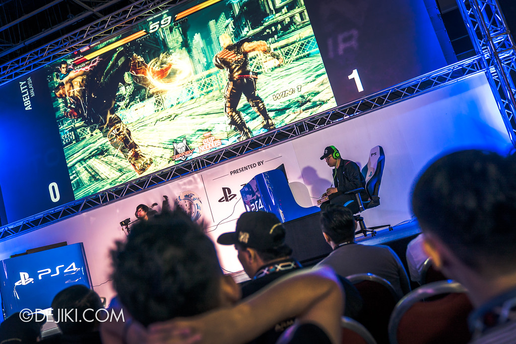 GameStart Asia 2017 Singapore gaming convention - TEKKEN World Tour