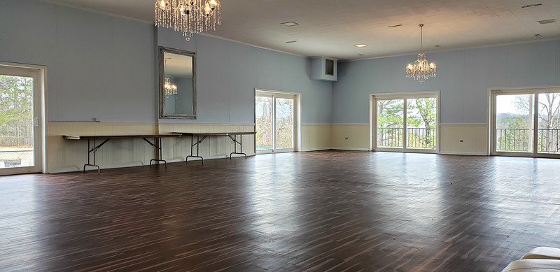 Tract 1 - clubhouse ballroom