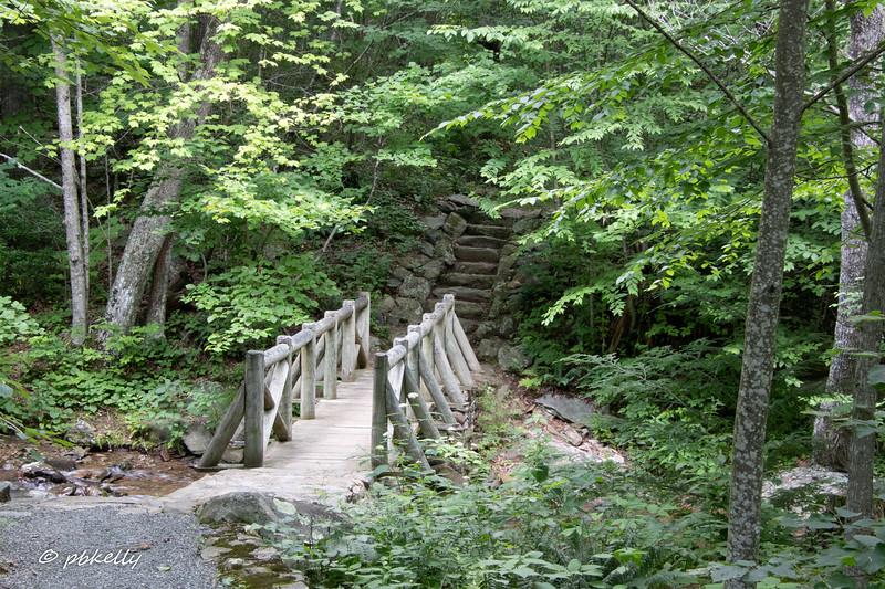 Bridge and stairs to Rapidan.
