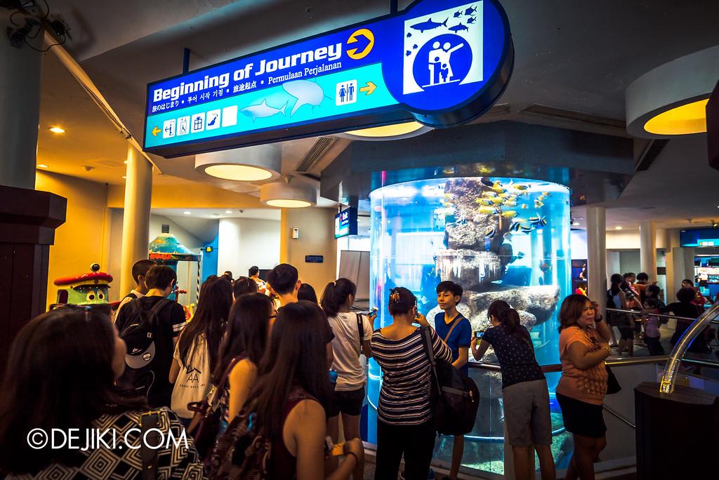 Underwater World Singapore - Beginning