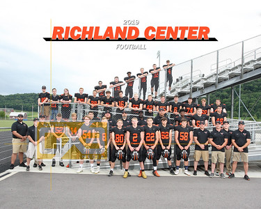 Richland Center football FB19