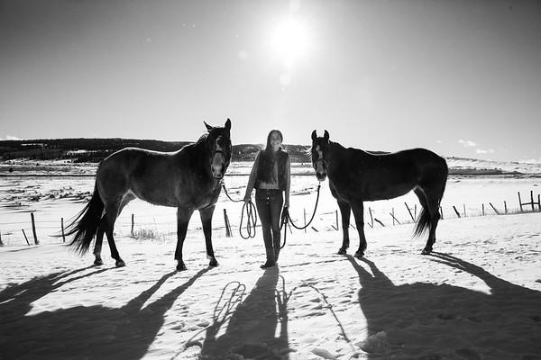 Joelle Sanpei Senior Horses 2018