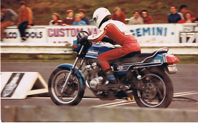 Drag bike shots from 80's