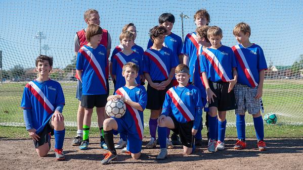 2018 Soccer Team Photos