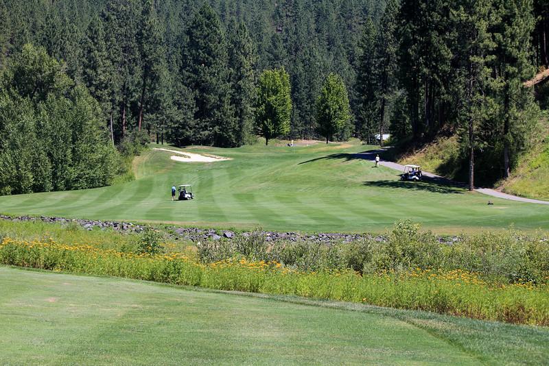 #9 Fairway, The Creek at Qualchan GC,  Spokane, Wa