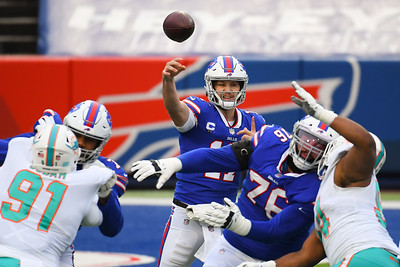 NFL: Dolphins at Bills; 1/3/21