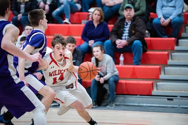 varsity boys' basketball:  Twin Valley vs. Bellows Falls 022619