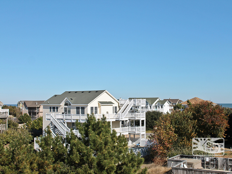 Ocean Views from Top-Level Deck