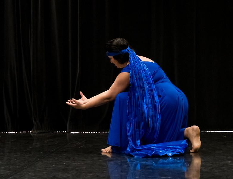 "Showing: Iris Mesko - ""The Blue Angel"""