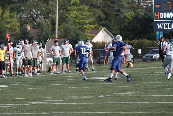 JV Spartans vs IWU 9/2/12