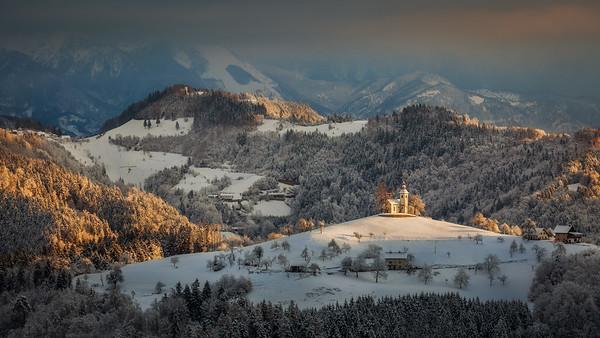 Sveti Tomaž - winter