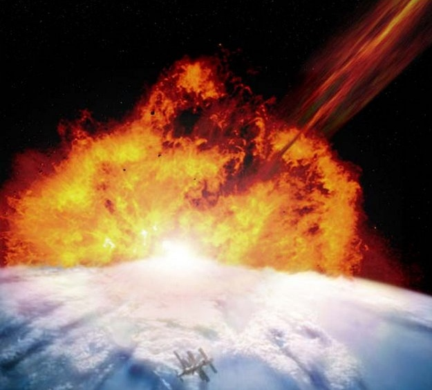 """. <p>7. (tie) ASTEROIDS <p>We�re guessing that, by 2032, we�ll be rooting FOR them to obliterate us. (unranked) <p><b><a href=\'http://news.cnet.com/8301-17852_3-57608150-71/massive-asteroid-to-hit-earth-in-2032-well-maybe/\' target=\""""_blank\""""> HUH?</a></b> <p>"""