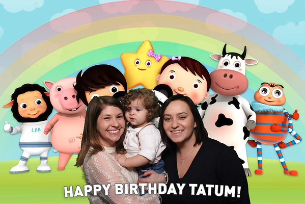 Tatum's First Birthday!
