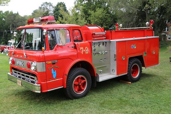 MICHIGAN FIRE MUSEUM 2015 MUSTER IN YPSILANTI, MI