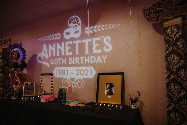 Annette's 40th Birthday