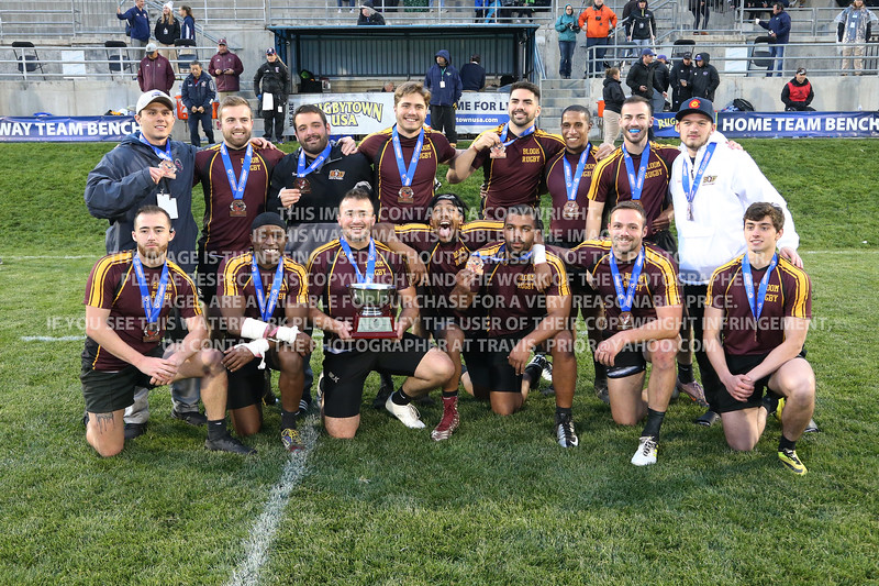 Bloomsburg University Rugby Men 2018 USA Rugby Collegiate 7's National Championships May 18-20