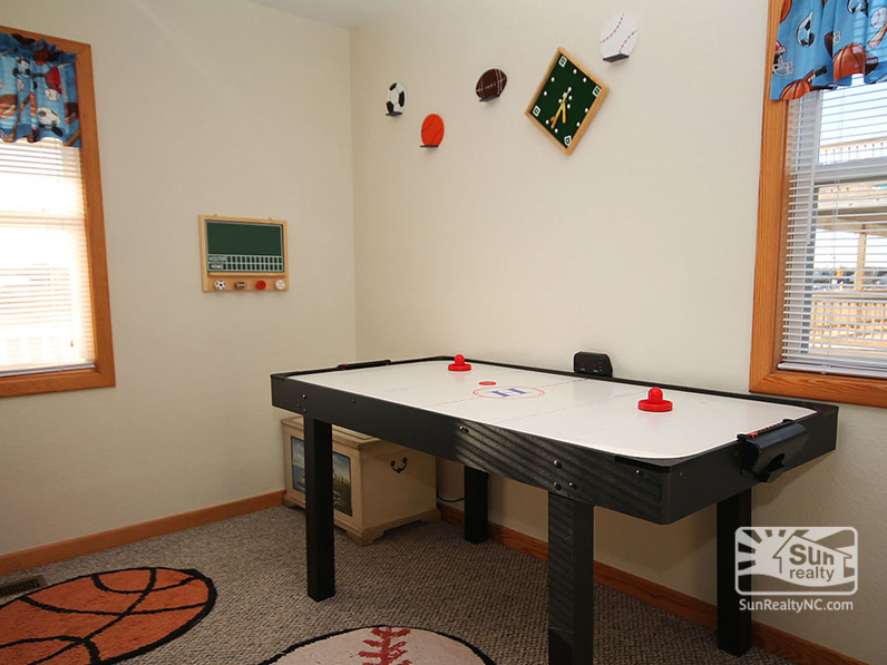 Foosball Table in Pyramid Bunk Bedroom