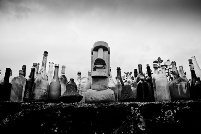 halawa glass bottles bw.jpg