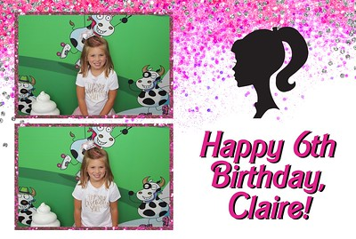 Claire's 6th Birthday