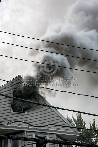 Boston MA - 4 Alarm Fire on Murdock St