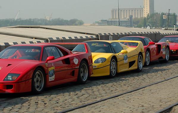 Ferrari birthday meeting Antwerp