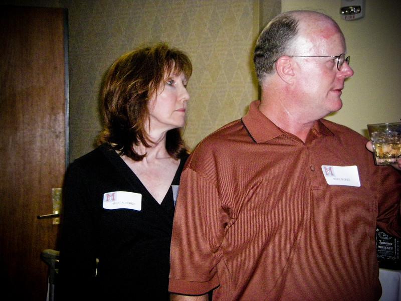 Sheila Burke, Mike Burke