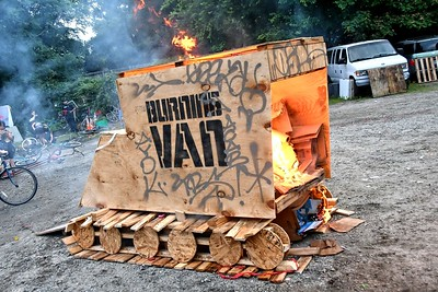 BURNING VAN 2019