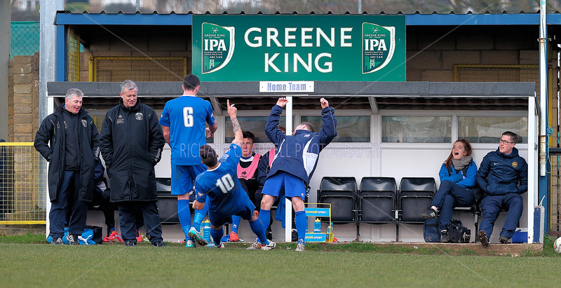 CHIPPENHAM TOWN V STRATFORD TOWN MATCH PICTURES 27th Feb 2016