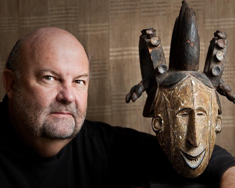 Tom Kuebler, artist and collector