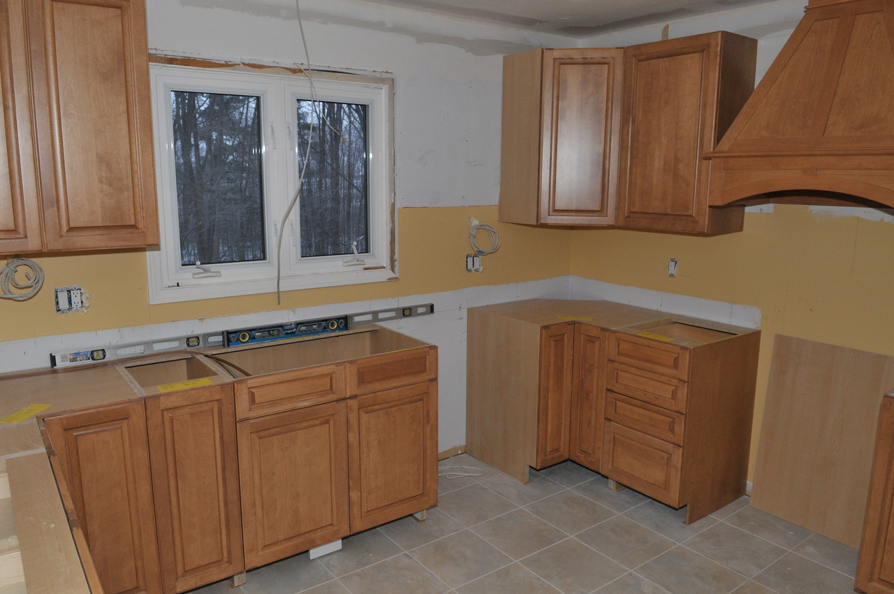 More of the new cabinets