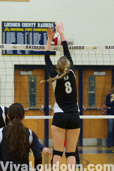 Volleyball: Dominion at Loudoun County 11/4/13 (Jeff Scudder)