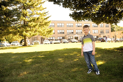 2013.09.04 - Thomas' first day a school