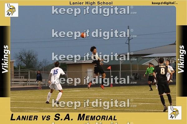 Lanier vs SA Memorial Soccer Playoff