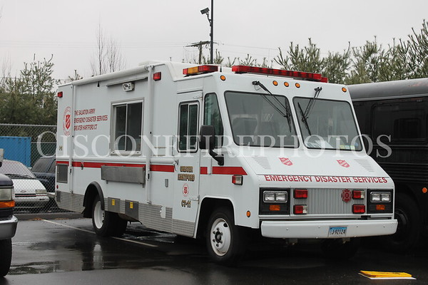 Salvation Army Response Vehicles