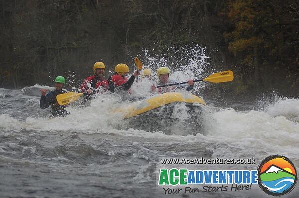 Tay Rafting Saturday 9th November AM