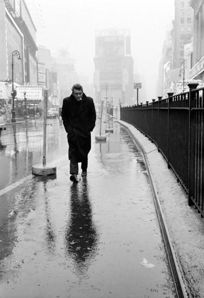James Dean, New York City, 1955.