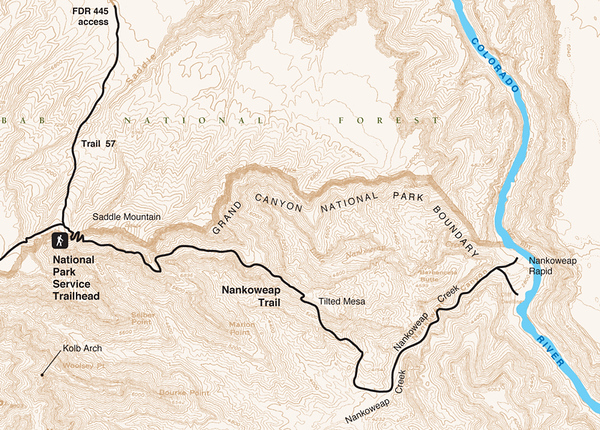 Grand Canyon National Park (Nankoweap Trail)