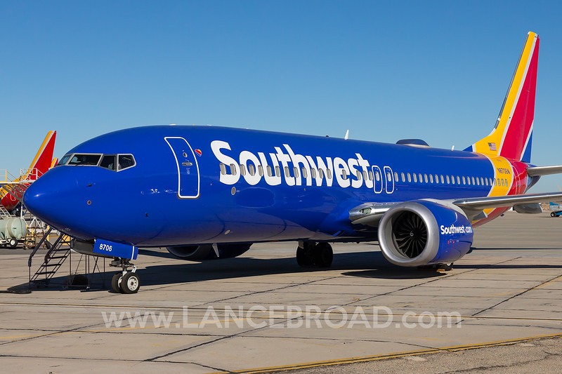 Southwest 737-8 MAX - N8706W - VCV