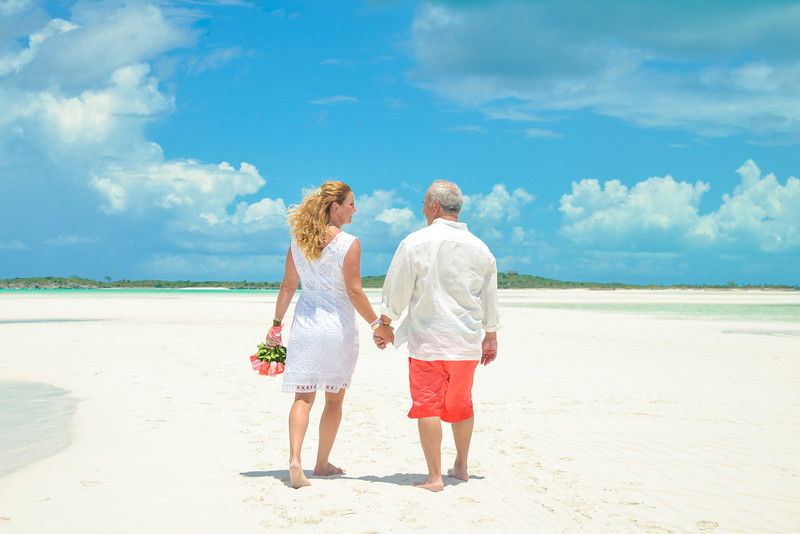 Wedding on the Sandbar