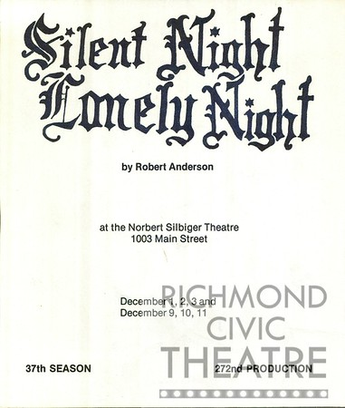 1977-1978 - Silent Night_Lonely Night