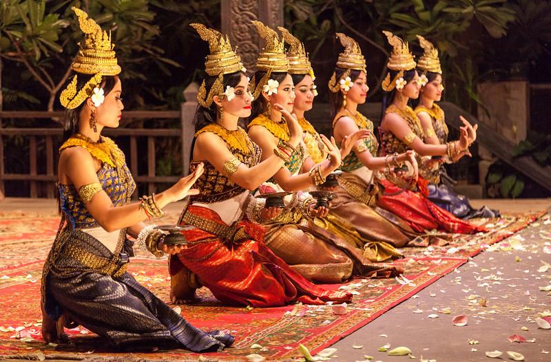Aspara show, Siem Reap
