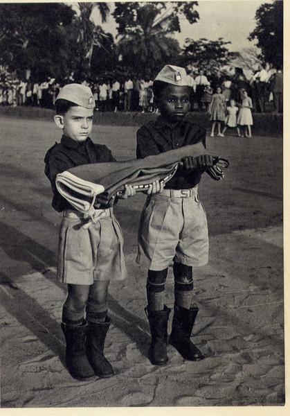 Mário Santos David e amigo