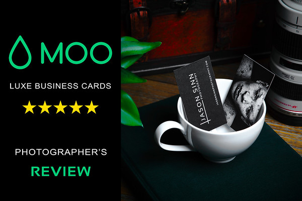 MOO Business Cards - A Photographer's Review