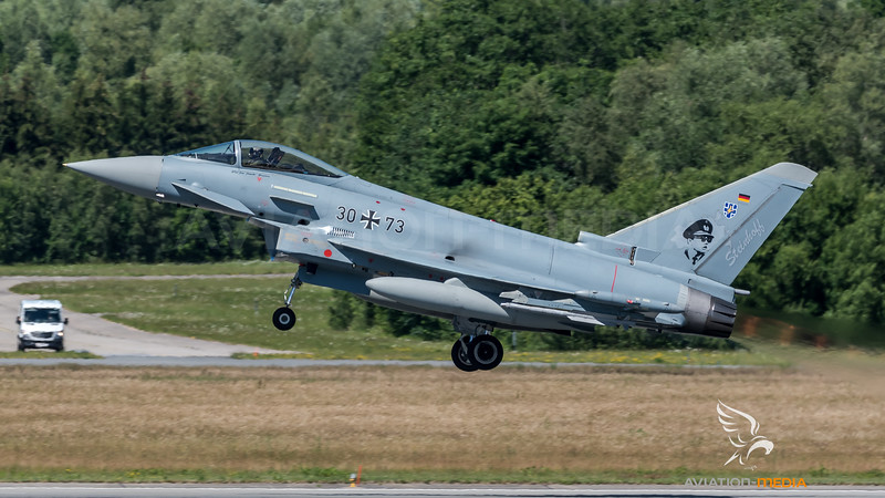 German Air Force TLG 73 / Eurofighter Typhoon / 30+73 / Steinhoff markings