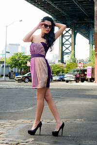 Dumbo Fashion Shoot  Shot in Dumbo, Brooklyn, NY  Model: Dashylya Sergeevna Photographer:  Mike Prieto