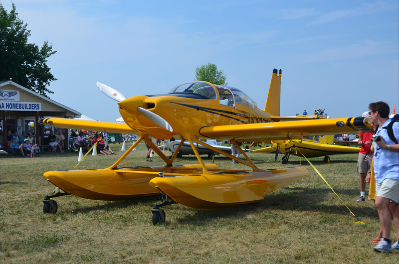 RV-7 on floats
