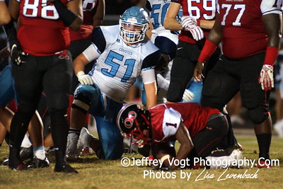 09-25-2015 Quince Orchard HS vs Clarksburg HS Varsity Football, Photos by Jeffrey Vogt Photography with Lisa Levenbach